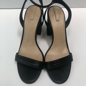 Aldo Strappy Shoes with Thick Heels